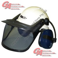 Ga Safety Hat Compl*white Only