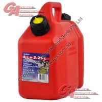 Fuel/oil Combo Cans 6l/2.5l