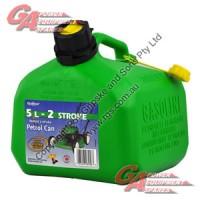 Scepter 5 Litre Green 2 Stroke Fuel Can